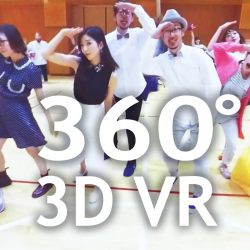 KISS ME (Official Music Video) 3D 360°VR